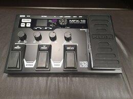 Оборудование для звукозаписывающих студий - Гитарный процессор NUX MFX-10, 0