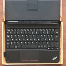 Чехлы для планшетов - Новая оригинальная клавиатура-обложка для планшета Lenovo ThinkPad 10, 0