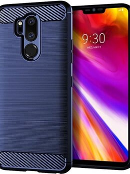 Чехлы - Чехол для LG G7 ThinQ (G7+ ThinQ) цвет Blue…, 0