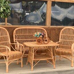Комплекты садовой мебели - Комплект мебели из ивовой лозы ручной работы. , 0