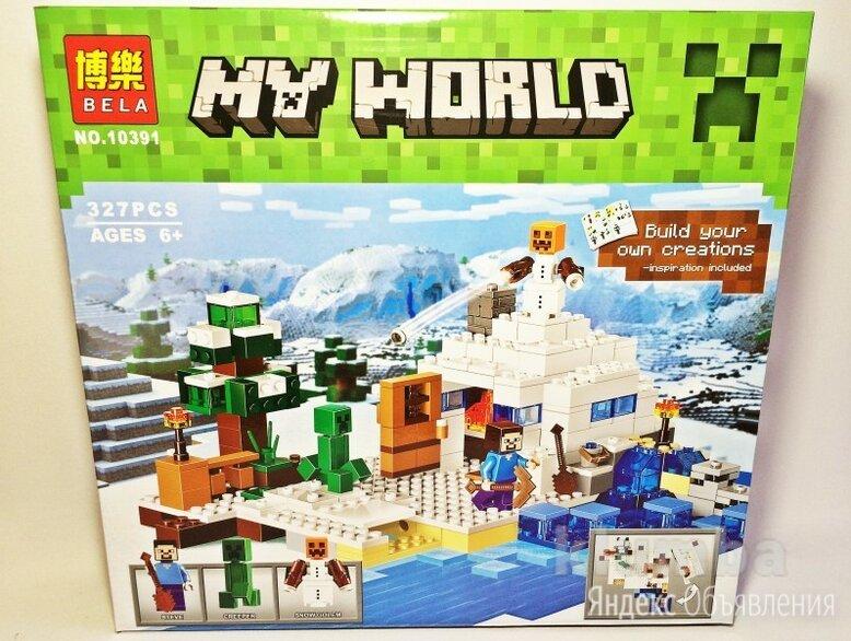 Лего Майнкрафт по цене 1490₽ - Игровые наборы и фигурки, фото 0