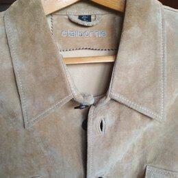 Пиджаки - Замшевый пиджак-куртка Claiborne 52-54 р-р, 0