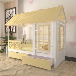 Кроватки - Кровать детская домик Соня 2-0 Yellow, 0