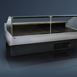 Холодильные витрины - Холодильная витрина Ариада Гамбург ВС58-3750 (встроенный холод), 0