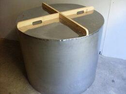 Бочки, кадки, жбаны - Бак из пищевой нержавейки 498 литров новый, 0