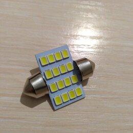 Лампочки - Светодиодная лампа в салон авто , 0