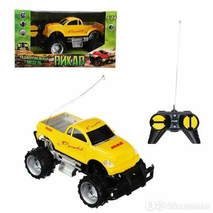 Машинка модель внедорожник-пикап на радиоуправлении по цене 350₽ - Радиоуправляемые игрушки, фото 0