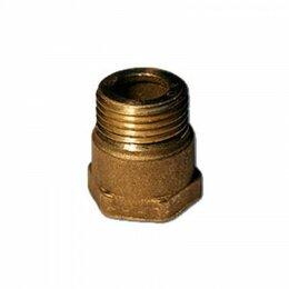 Элементы систем отопления - Переходник Ду-15 (труб.,внт-метр.,внш.), 0