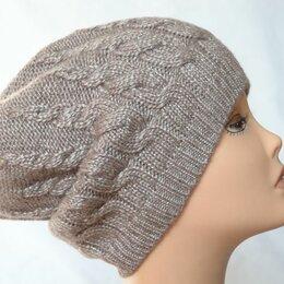 Головные уборы - Вязаная женская шапка косами розовая Vizio Италия 5937 CLO, 0
