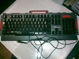 Клавиатуры - Фирменная игровая клавиатура Qumo в отличном…, 0