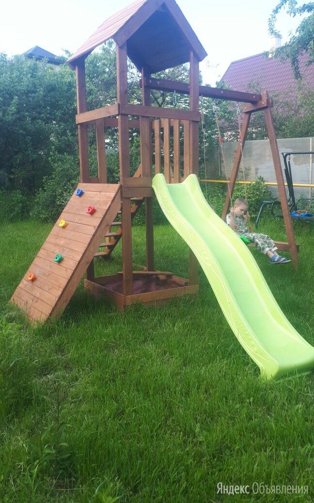 Детская горка деревянная по цене 35900₽ - Игровые и спортивные комплексы и горки, фото 0