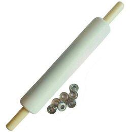 Скалки - Скалка для раскатывания теста 35-6см с…, 0
