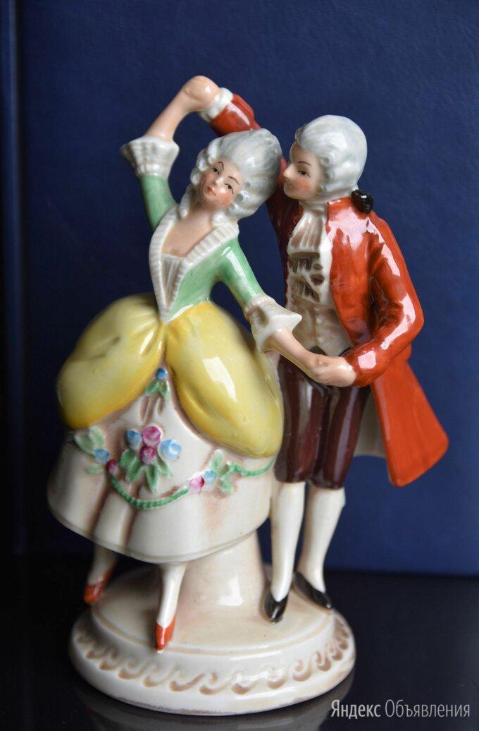 """Фарфоровая статуэтка """"Танцующая пара"""" Германия по цене 4500₽ - Статуэтки и фигурки, фото 0"""