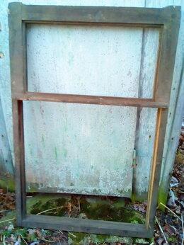 Окна - Рамы оконные деревянные глухие 4 штуки, 0