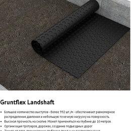 Дренажные системы - Gruntflex Landshaft  40м2 профилированная мембрана, 0