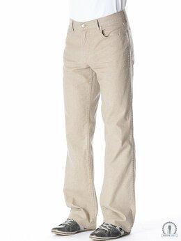 Джинсы - Бежевые мужские джинсы W5053 DK_BEIGE  MoscowDandy, 0
