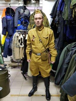 Военные вещи - Пилотка с гимнастеркой+ремень+ снаряжение, 0
