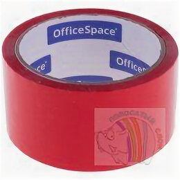 Строительный скотч - Скотч 48мм х 40 м OfficeSpace, 45мкм, красная, ШК, 0