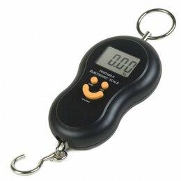 Кухонные весы - Ручные электронные весы (безмен) до 50 кг, 0