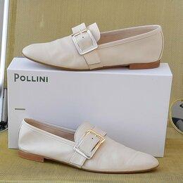 Туфли - Летние туфли. Брендовые туфли. Pollini. Италия, 0