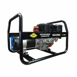 Электрогенераторы - Генератор бензиновый DDE GG3300Z, 0