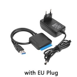 Компьютерные кабели, разъемы, переходники - Портативный USB 3.0 - SATA кабель и блок питания, 0