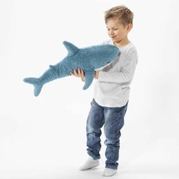 Мягкие игрушки - Мягкая игрушка Акула 40 см., 0