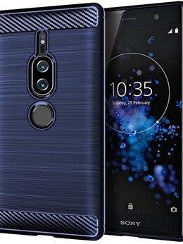 Чехлы - Чехол на Sony Xperia XZ2 Premium цвет Blue…, 0