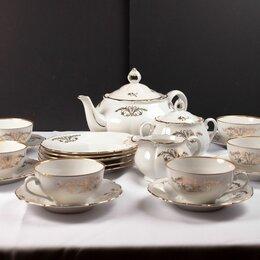 Сервизы и наборы - Фарфоровый чайный сервиз Bohemia Богемия, 0