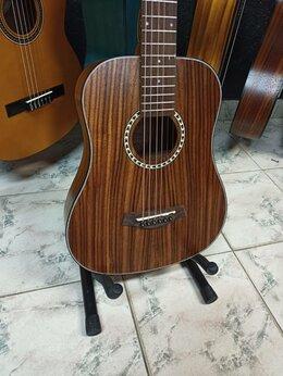Акустические и классические гитары - Тревел гитара Flight новая, 0