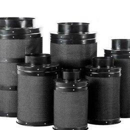 Фильтры для вытяжек - Фильтр Угольный Т-350 в гроутент, 0