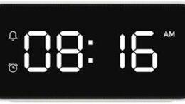 Часы настольные и каминные - Будильник Xiaomi Xiao AI Smart Alarm Clock, 0