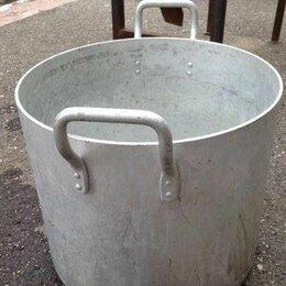 Кастрюли и ковши - Кастрюля алюминиевая 40 литров , 0