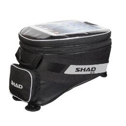 Аксессуары и дополнительное оборудование  - Сумка на бак мотоцикла, shad SL23B 23 л, 0