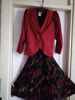 Платья - Костюм . Платье с пиджаком Индия. Размер 46 -48, 0