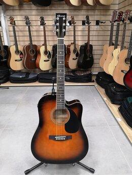Акустические и классические гитары - Электро-акустическая гитара Caraya F631CEQ-BS, 0