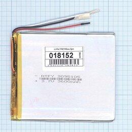 Аккумуляторы - Аккумулятор Li-Pol (батарея) 3*95*105мм 3pin…, 0