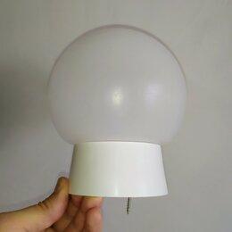 Настенно-потолочные светильники - 🔥Пластиковый плафон- светильник 150 мм., 0