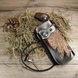 Клатчи - Кошелёк, портмоне, клатч из натуральной кожи, 0