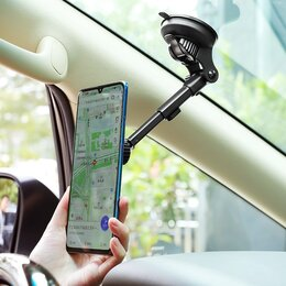 Держатели для мобильных устройств - Магнитный автомобильный держатель Borofone H21, 0