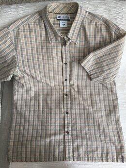 Рубашки - Рубашка мужская с коротким рукавом Columbia, 0