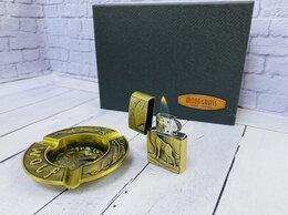 Подарочные наборы - Подарочный набор Зажигалка+Пепельница, 0