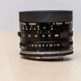 Объективы - Tamron 28 - 50 mm 1:3,5 - 4,5 MACRO for NIKON, 0