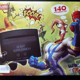 Ретро-консоли и электронные игры - Sega Super Drive Earthworm Jim 140игр, 0