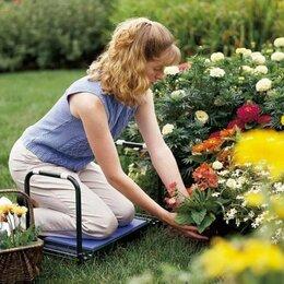 Скамейки - Скамейка садовая дачная перевёртыш мягкое сиденье Ника до 120 кг, 0