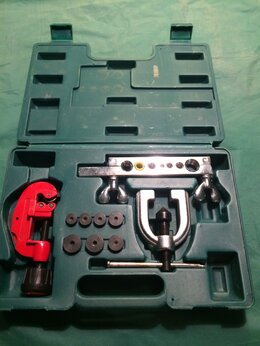 Наборы инструментов и оснастки - Набор для развальцовки трубок JONNESWAY AN040043A, 0