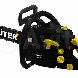 Электро- и бензопилы цепные - Бензопила huter BS-40, 0