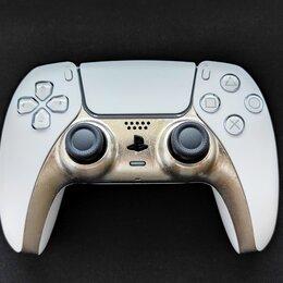 Рули, джойстики, геймпады - DualSense (PS5). Платиновый, 0