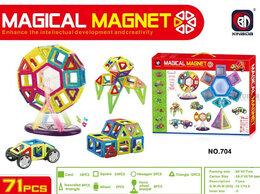 Конструкторы - Магнитный конструктор 3D 704 Magical Magnet 71…, 0