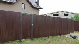 Заборы и ворота - Забор из профнастила., 0